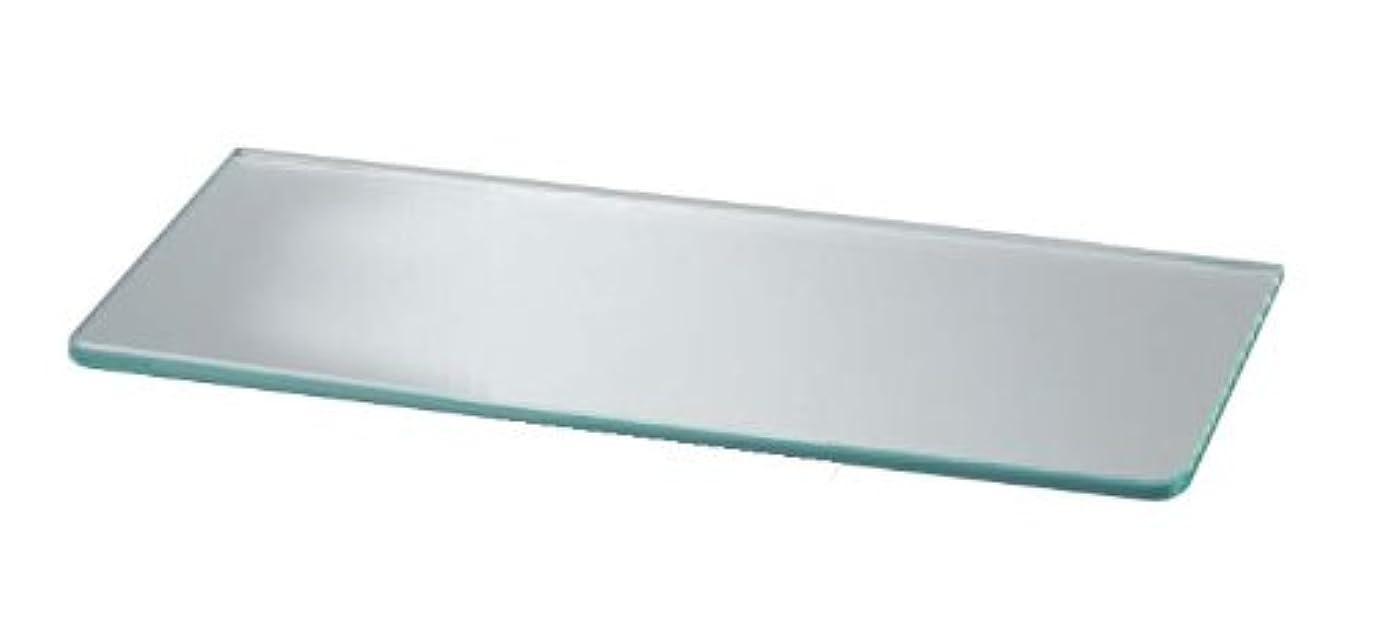 協同自動応用シロクマ ガラス棚板B形 450㎜ 透明 TG-120