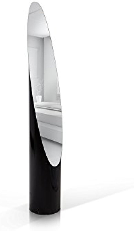 Moebel-eins Gloria II Standspiegel schwarz, schwarz