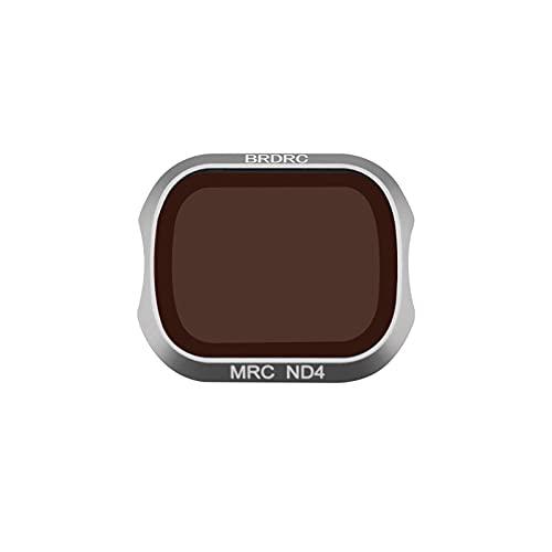 V-MAXZONE Filtro de Lentes para dji para Filtro de cámara Pro Mavic 2 Filtro UV CPL ND Filtro ND16 ND32 ND4 ND8 para Mavic 2 Pro Accesorios DRONO ( Color : ND4 )