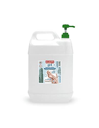 Bidon de 5 litres - Gel Hydroalcoolique Purity 703 - Sans parfum
