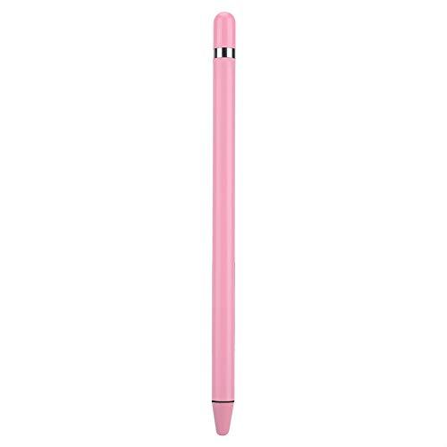 Penna stilo touch screen universale, penna digitale portatile ad alta sensibilità e precisione, penna capacitiva attiva per tablet e telefoni, vari colori opzionali, soft touch(rosa)