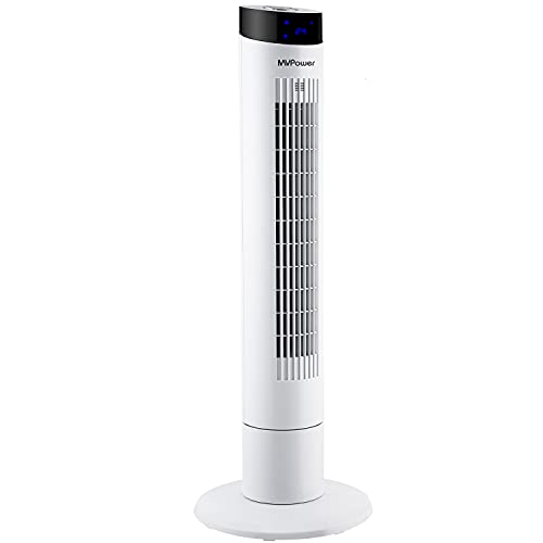 ventilatore a torre 50 db MVPOWER Ventilatore a Torre Silenzioso con Telecomando