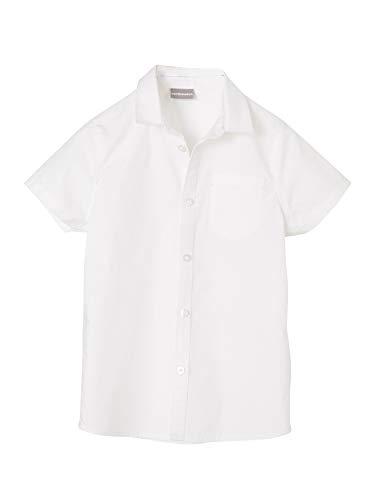 Vertbaudet Kurzarm-Hemd für Jungen weiß 128