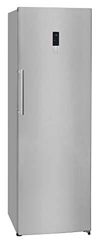 Exquisit Kühlschrank KS 370-1 RVE A++ Inoxlook |Standgerät | 360 L Nutzinhalt | inox