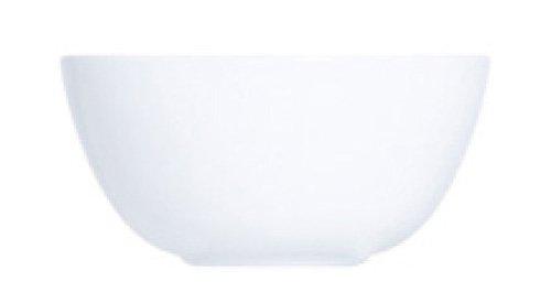 Luminarc D7361 6 Coupelles Diwali, Opale-Verre Trempé, Blanc, 12 cm