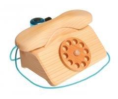 Grimms Spiel Und Holz Design Grimms Telefon mit Glocke