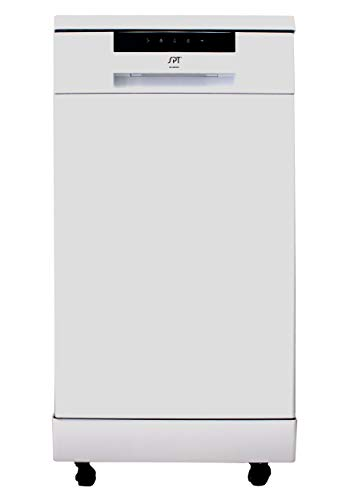 SPT APPLIANCE SD-9263WA White 18″ Energy Star Portable Dishwasher