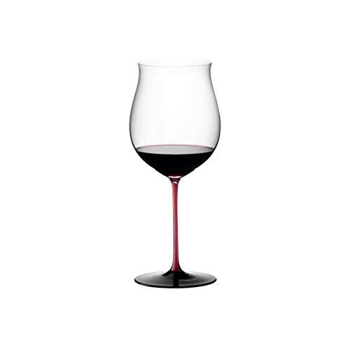 Copas de Vino Conjunto de Copas de Vino Modernas de 2 Copas de Vino Tinto Premium Crystal Stemware Long Stem Copas de Vino Clear Mano Soplado Cristal (Color : 1)
