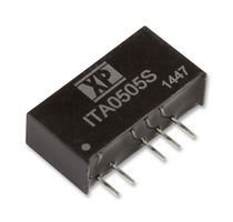 XP POWER ITA2415S Isolated Board Mount DC/DC Converter, Through Hole, 1W, 15V, 33.3mA, -15V, 33.3mA (50 pieces)