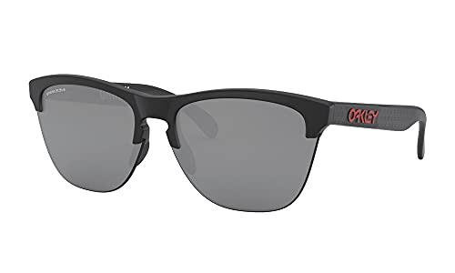 OAKLEY オークリー サングラス 9374-3863 大谷翔平 シグネチャー モデル FROGSKIN LITE フロッグスキン ライト Prizm Black スポーツサングラス 野球 日本正規品 (Matte_Black)