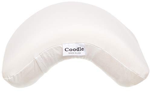 Coodle Pillow - Couples Foam Cuddling Pillow - Tunnel-Shaped Design for Arm and Neck Support When Spooning - Great for Travel, Reading and Napping