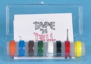 12735 Tape n Tell Color Code 8/Box Part# 12735 by E C Moore Co Inc Qty of 1 Box