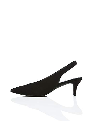 Marca Amazon - find. Kitten Heel Sling Back - Mary Jane Mujer