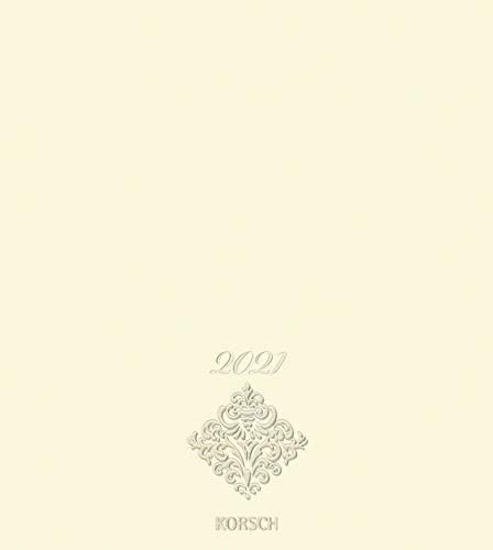 Foto-Malen-Basteln Bastelkalender Premium chamois 2021: Fotokalender zum Selbstgestalten. Do-it-yourself Kalender mit festem Fotokarton. Edle Folienprägung. Format: 21,5 x 24 cm