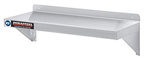 DuraSteel Stainless Steel Wall Shelf - 36