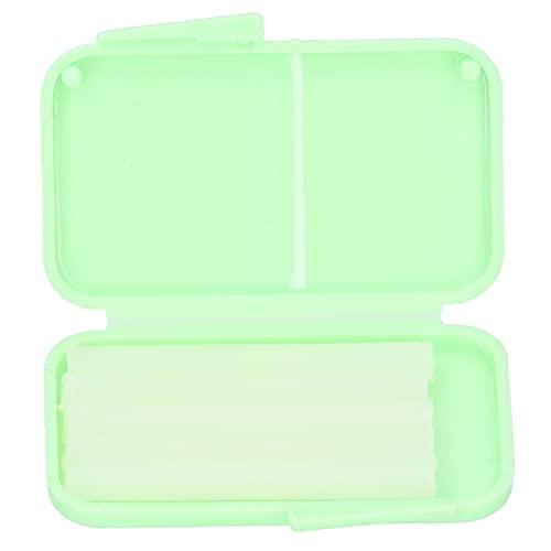 10 piezas de cera de ortodoncia para el cuidado dental para el usuario de aparatos ortopédicos, cera de ortodoncia dental para aparatos orales y protección bucal(verde)