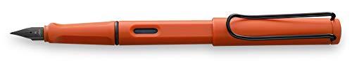 LAMY safari Füllhalter 041 – Moderner Füller in der Farbe Terra mit ergonomischem Griff und zeitlosem Design – Federstärke M