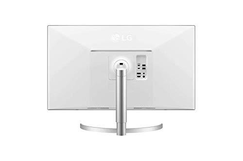 LG 32UL950-W 80,01 cm (31,5 Zoll) Monitor (UHD 4K UltraFine, HDR600, AMD Radeon FreeSync, Thunderbolt(tm) 3, DCI-P3 98%) schwarz weiß