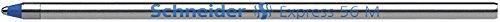 Schneider Schreibgeräte Kugelschreibermine Express 56, mit Edelstahlspitze, dokumentenecht, M, Blau