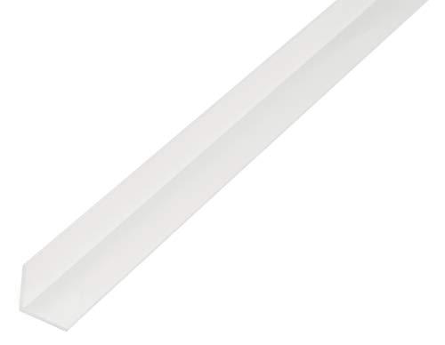 GAH Alberts 479206 Cornière, Blanc, 1000 x 10 x 10 mm
