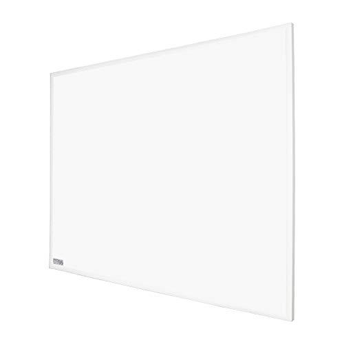 BMOT Emisor Térmico Bajo Consumo,Pantalla Digital LCD,Funcionamiento Programable,Protección sobrecalentamiento,450W,blanco