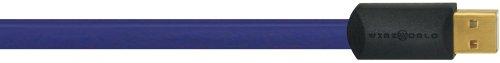 WIREWORLD ULTRAVIOLET USB 2.0 A-B FLAT CABLE 1M