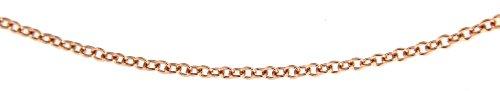 Carissima Gold Collar de mujer con oro rosa de 18 K (750), 41 cm