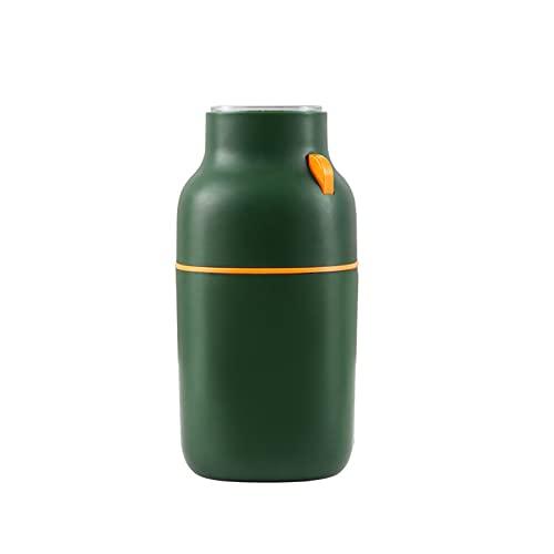 Lihuzmd Molinillos de café eléctrico, pulverizador eléctrico con Amoladora de Hoja de Acero Inoxidable para Granos de café, Granos, Especias, nueces,Verde