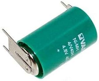 Varta Knopfzellen Akku 4 V40h 4 8volt 40mah Nimh Als Elektronik