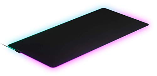 SteelSeries QcK 3XL Prism - RGB Gaming Surface - Optimized For Gaming Sensors - Maximum Control - 1220mm x 590mm