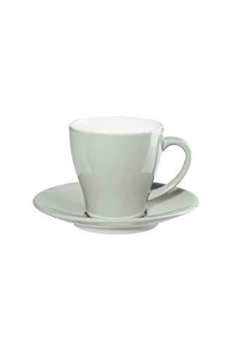 ASA Tasse à café avec sous-tasse Sky Tiamo D. 8,6 cm, H. 8,5 cm, 0,25 l. 22020179 Neuheit 2020 ! Le kit comprend 6 x articles et 4 pailles en acier inoxydable EKM Living