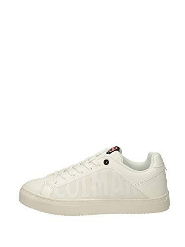 COLMAR Sneaker Männer Leder Bradbury Bradbury Modell Chromatic Weiß. Kollektion Frühjahr Sommer 2020. EIN Perfekter Schuh für die Freizeit ohne modernes Aussehen zu Opfern. EU 44