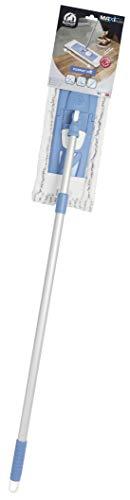 ELEPHANT Balai à plat pour laver les grandes surfaces, Bleu, 1M60