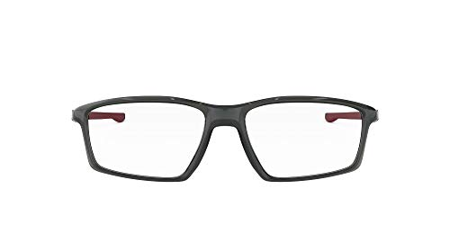 OAKLEY Chamber Mens Grey Rectangle Eyeglasses(OX8138-0355)