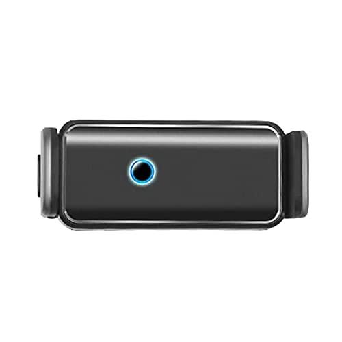QKFON Soporte de teléfono adaptativo de rotación de 360 grados, fácil de tocar soporte universal para coche, soporte universal para ventilación de coche