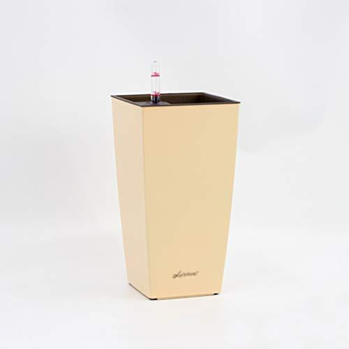 Jren-zk SZQ-bloempot voor op het bureau, nachtkastje, bloempot, tulip, roze, automatische wateropname, wateropslagfunctie
