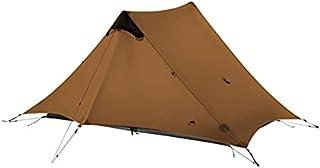 3F UL GEAR 2 utomhus vandring ultralätt camping 2 personer tält 3-4 säsong professionellt 15D silikon stavlöst tält