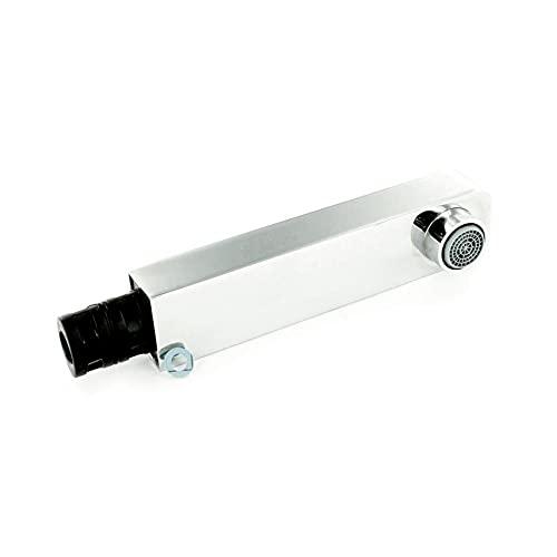 Blanco Levos-S 117785 - Cabezal de ducha (cromado, completo, MZ galván, para grifo de alta presión)