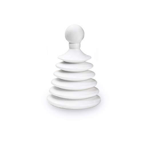 Master Plunger Mighty Tiny Saugglocke für Badezimmer/Küche, ideal für Wohnmobile, schnell und einfach (zum Patent angemeldet), Weiß