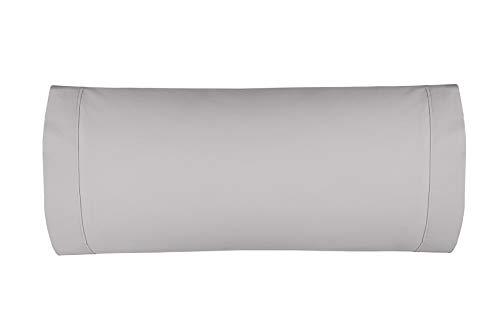 Burrito Blanco Atelier Funda de Almohada 180 Hilos de Algodón de 45x155 cm/Funda de Almohada para Cama de Matrimonio de 135,...