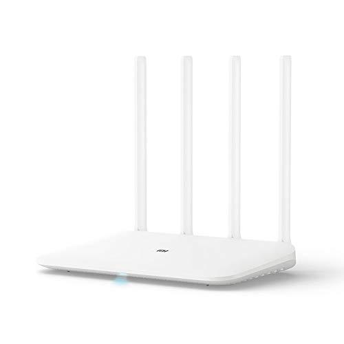 WiFi Repeater 4,100m Red InaláMbrica SeñAl InaláMbrica Red De Mejora Router InaláMbrico Compatible con El Protocolo De Enlace WiFi RáPido Miot, Minet con Un Clic
