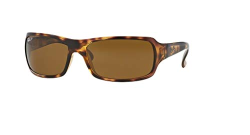 Ray-Ban RB4075 642/57 61M Havana/Brown Crystal Polarized Sunglasses For Men For Women