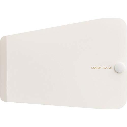 キングジム マスクケース 布・ポリウレタン用 1/4サイズ MC1007 白