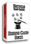 Rising Card Deck Bicycle Karten - Rote Rückseite