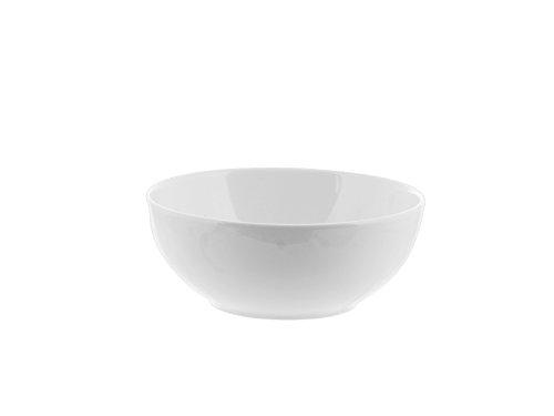 H&H Pengo 3684715 Insalatiera Multiuso, Ceramica, 15 cm, Bianco