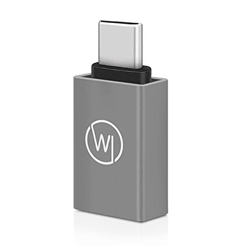 Wicked Chili 1x Adattatore USB-C per Webcam Compatibile con Logitech, Jelly-Comb, Teaisiy, Nulaxy e Webcam HD 1080P, da Type-C a Type-A USB 3.1 Jack, Adattatore per Laptop