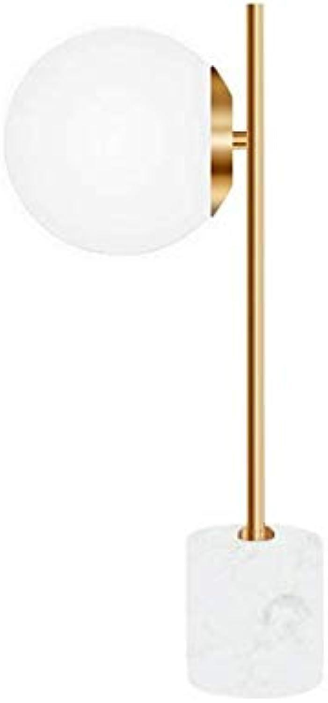 Led Unterbauleuchte Lichtleiste Deckenlampeglastischlampe Nordeuropa Ball Schlafzimmer Kopfteil Einfache Postmoderne Wohnzimmer Marmor Led Netzschalter Taste E27