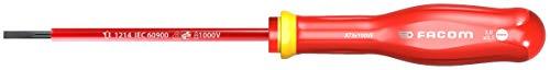 Facom AT3X100VE AT3X100VE-Destornillador Aislado Plano 3X100 1000V