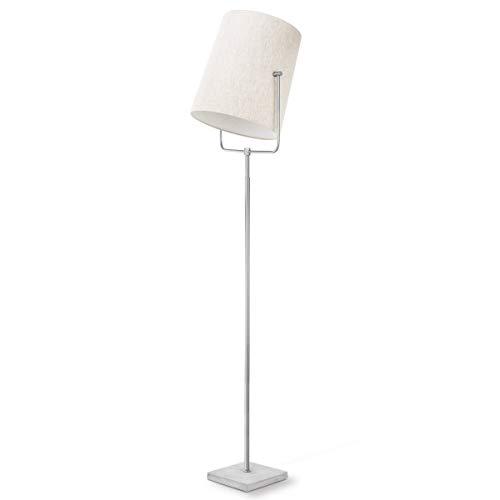 Home sweet home vloerlamp Bird ? 175 cm - mat staal