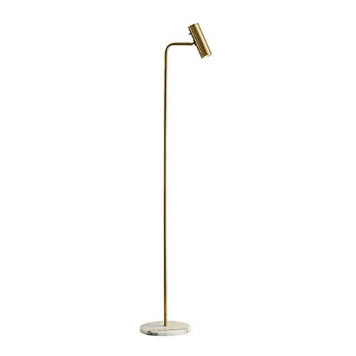WYFX -Luces de Piso Lámpara de pie Moderna Metal Lámpara de Mesa Vertical Simple Sala de Estar Sofá Lámpara de Lectura Estudio Lámpara de Piano Iluminación Regulable Decoración Luz de Lectura LED